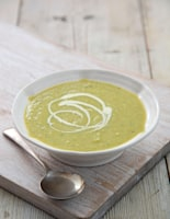 Broad Bean and Mint Soup