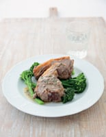Grilled Lamb with Anchovy Sauce