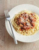 Easy Sausage Spaghetti Bolognese