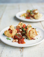 Roasted Cauliflower with Tomato Sauce