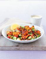 Turkey Skewers & Bulgar Salad