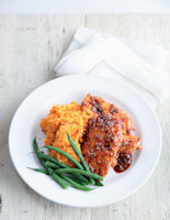 Lime and Sweet Chilli Chicken with Sweet Potato Mash
