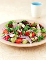 Smoked Chicken & Onion Salad
