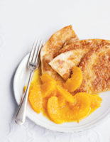 Caramelized Oranges with Cinnamon Tortillas