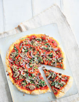 More Than 5 Vegetable Pizza