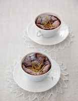 Baked Chocolate Orange Mousse