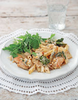 Chicken and Dolcelatte Pasta Bake