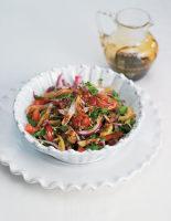 Onion, Parsley, Tomato and Pomegranate Syrup Salad