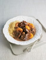 Ginger and Honey Lamb and Apricot Tagine