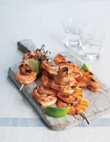 Chargrilled Chilli Prawns with Lime