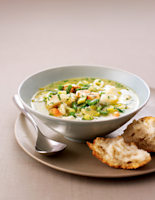 Haddock & Shellfish Soup