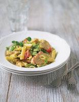 Chicken and Tarragon Pesto Penne