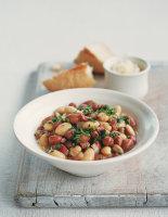 Italian Beans with Pancetta
