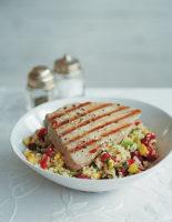 Tuna and Bulgar Wheat Bowl
