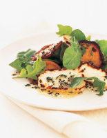Sweet Potato & Haloumi Salad