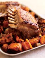 Maple Lamb with Sweet Potatoes