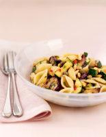 Aubergine & Courgette Pasta Salad
