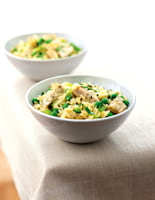 Artichoke, Pea & Mint Salad