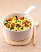 Speck, Spinach & Taleggio Fusilli