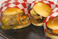 Try Chef Michael Fiorelli's 'Downlow Burger' for Football Game Night