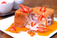 The Way This Chef Makes Stuffed French Toast Is Weirdly Mesmerizing