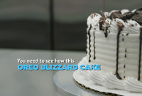 You've Got To See How Dairy Queen Actually Makes Its Blizzard Cakes