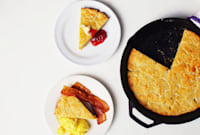 How to Make a Giant Skillet Biscuit