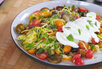 How to Make Spiralized Ratatouille