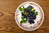 No-Bake Blueberry-Cheesecake Ice-Cream Pie