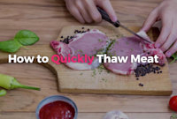 How to Quickly Thaw Meat