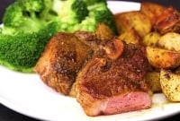 How to Make Turmeric Lamb Chops With Crispy Potatoes and Broccoli