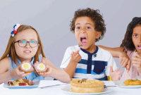 Kids Try 100 Years of British Food