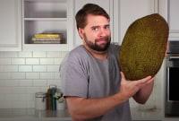 How to Cut Up Jackfruit