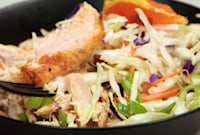 How to Make Orange Almond Chicken and Cabbage Bowls