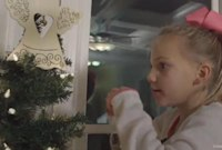 Young Heart Transplant Recipient Honors Donor with Special Christmas Tree