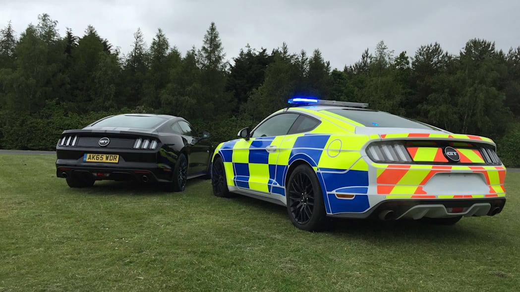 Ford Mustang police UK