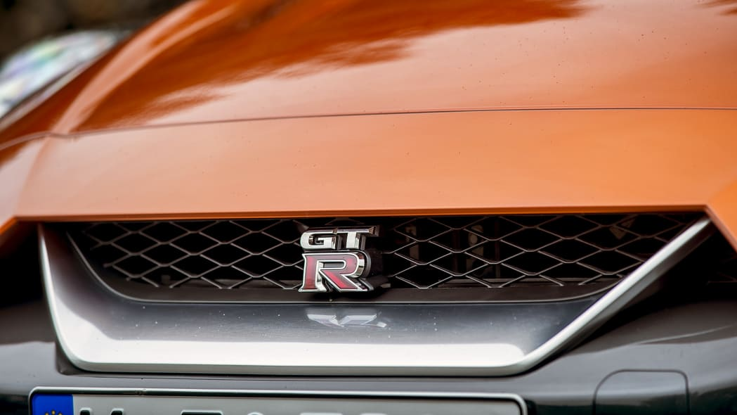 2017 Nissan GT-R grille