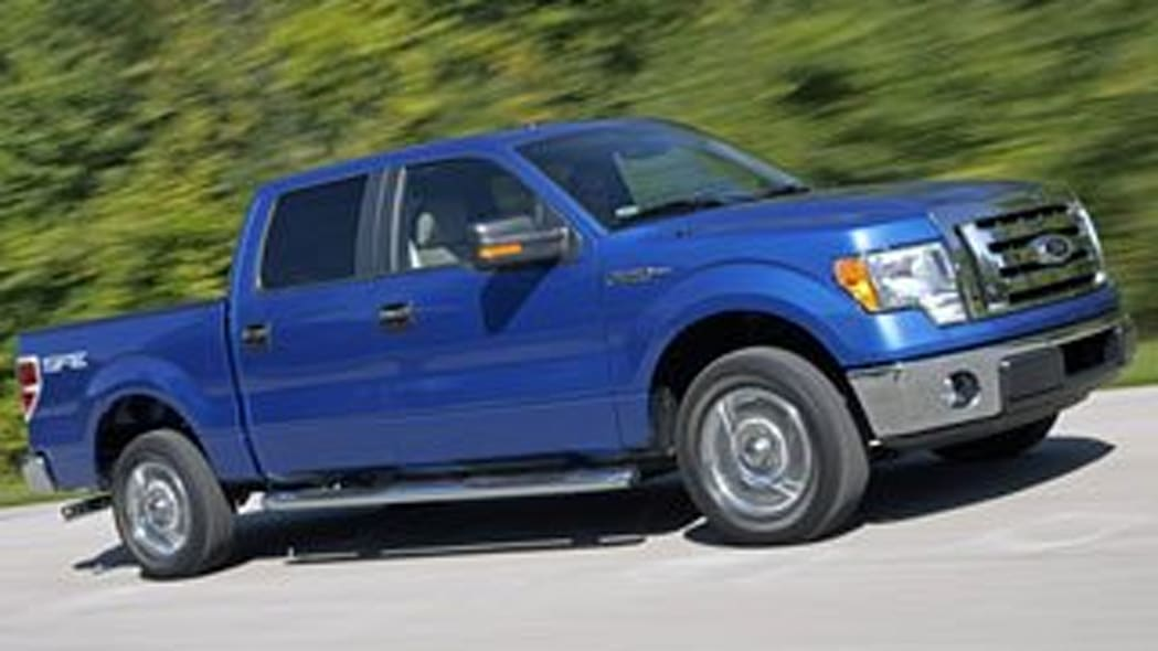 Large Pickup: Ford F-150 Crew Cab