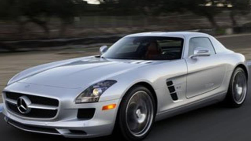 1. Mercedes-Benz SLS AMG