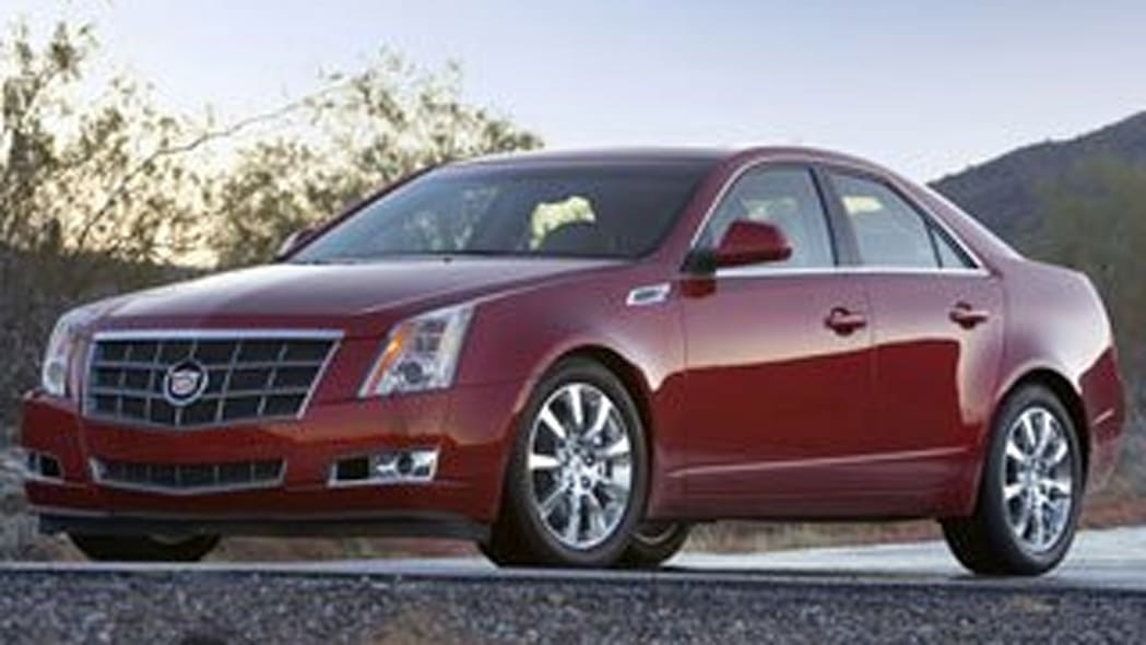 Luxury Sedan - Cadillac CTS