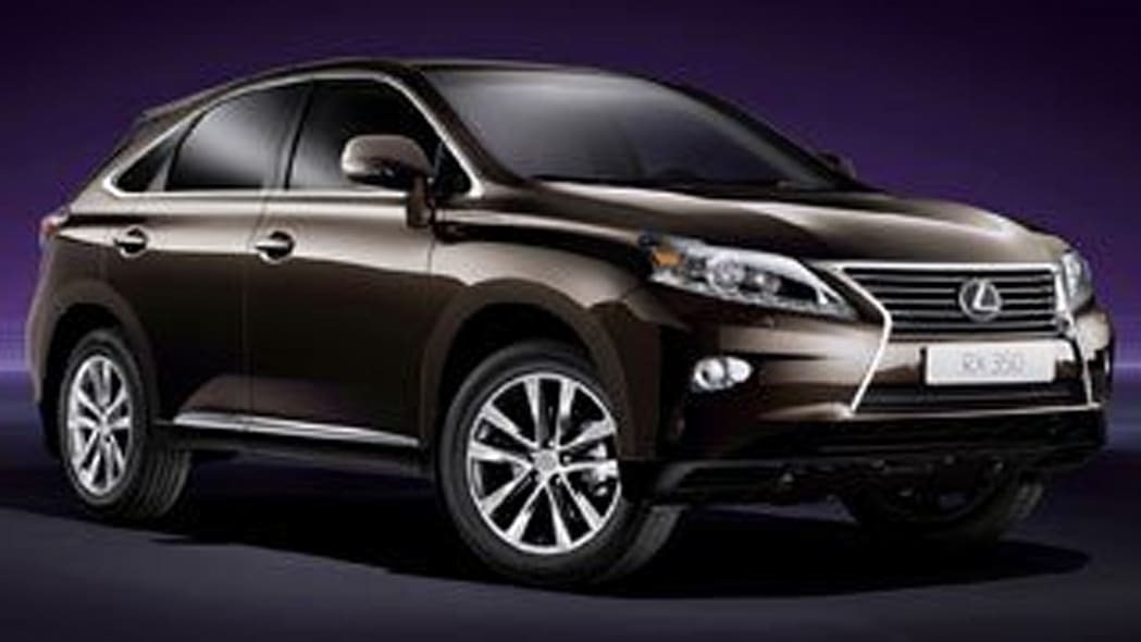 Large/Luxury SUV - Lexus RX 350