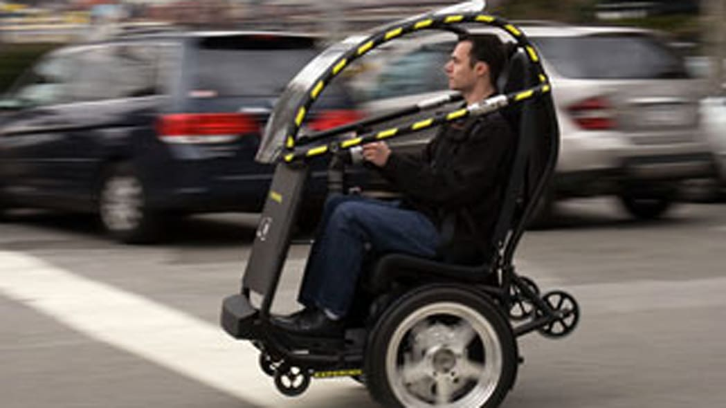 GM and Segway Collaborate on P.U.M.A. Project