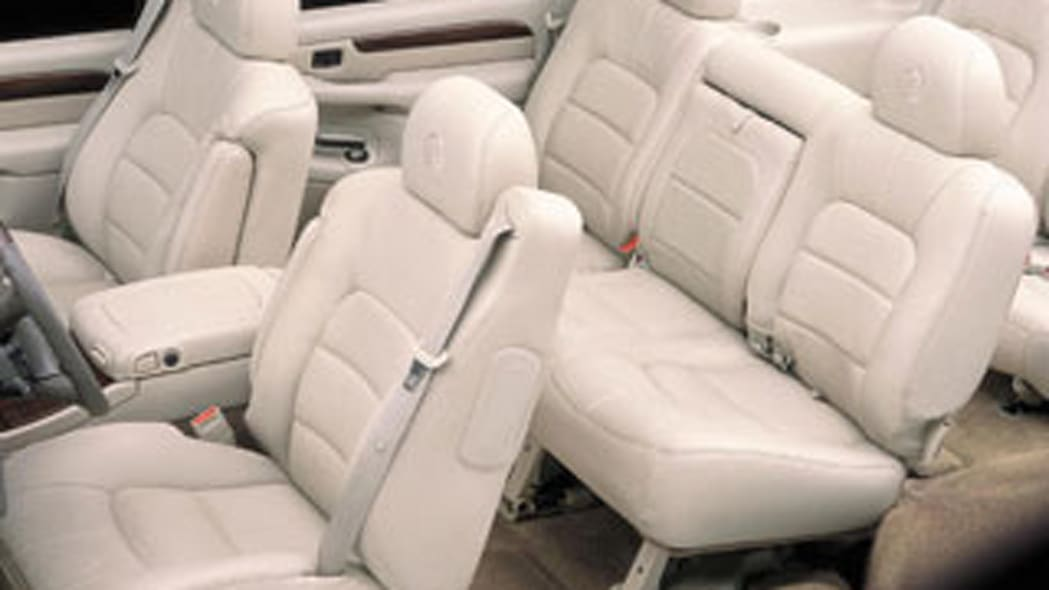 40 to 50 years: Seat leather