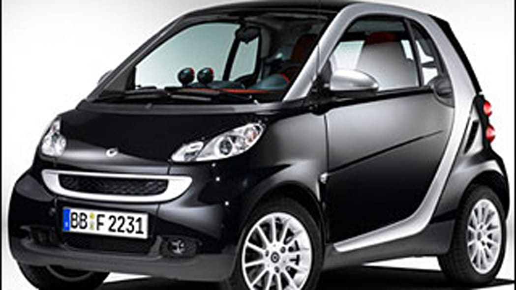 Dishonorable mention: Smart fortwo