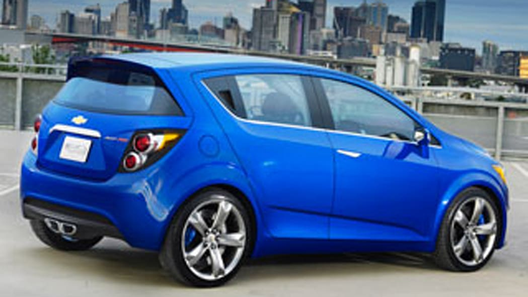 Chevy Aveo RS Concept: A Real Car
