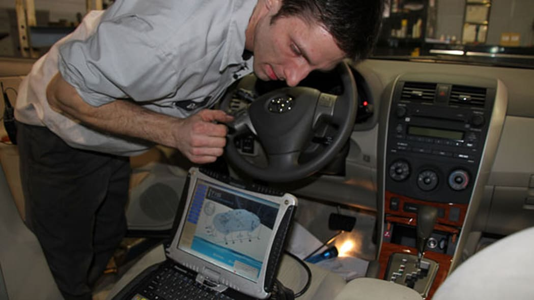 6. Reinstall and check the vehicle