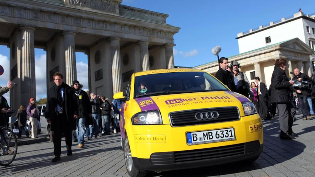 Lekker Mobil electric Audi A2 with DBM Energy batteries