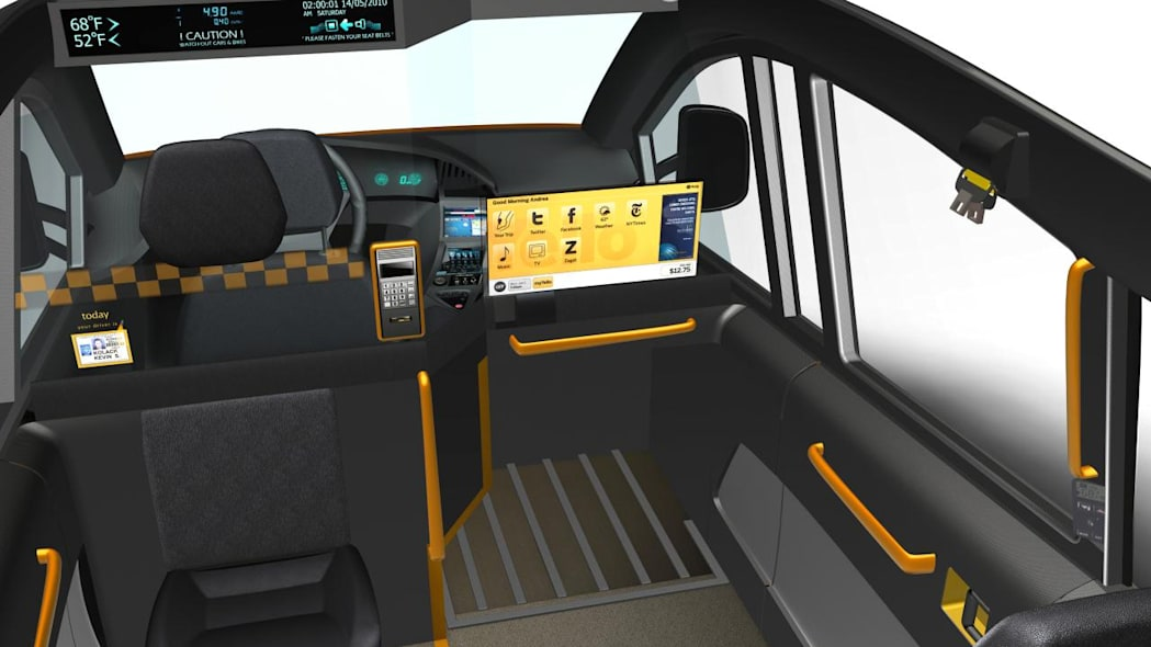 Karsan V1 New York City Taxi concept