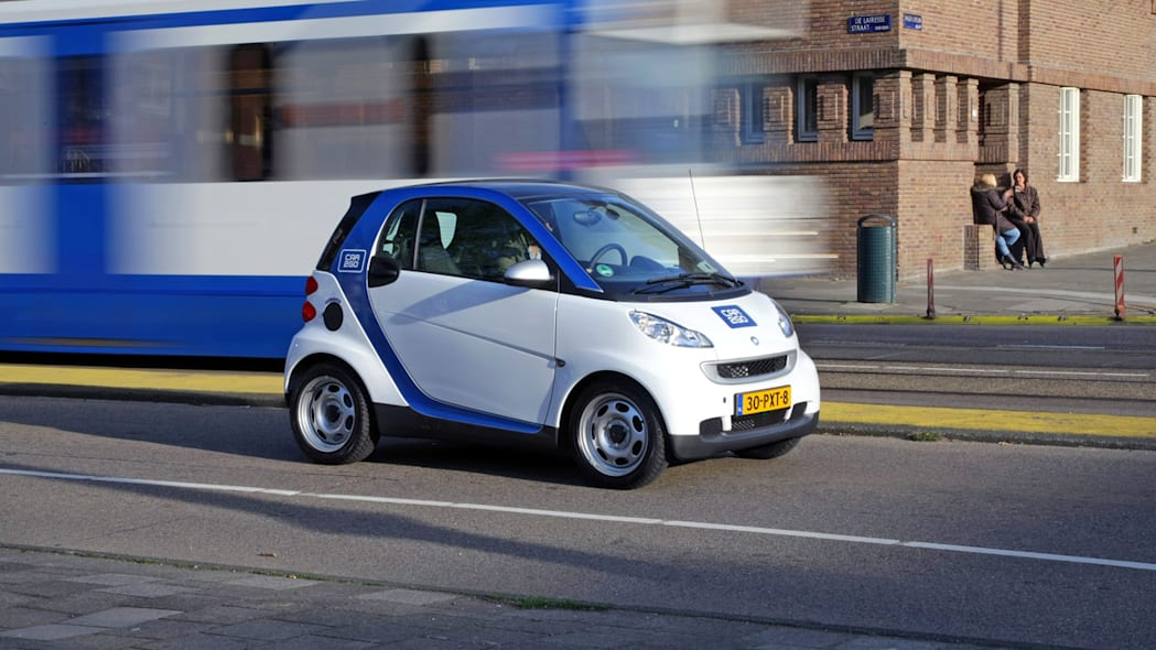 Electric Car2go Carsharing Service in Amsterdam