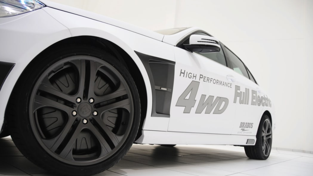 Brabus Benz High Performance 4WD Full Electric